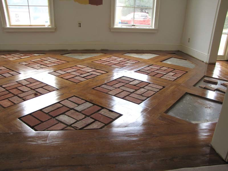 Brick Floor Tile Installation Photos Acadian Brick Stone Lafayette La