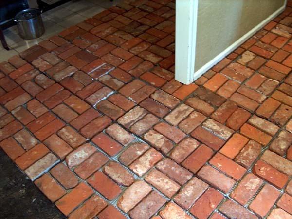 Photo Albums Antique Brick Floor Tile