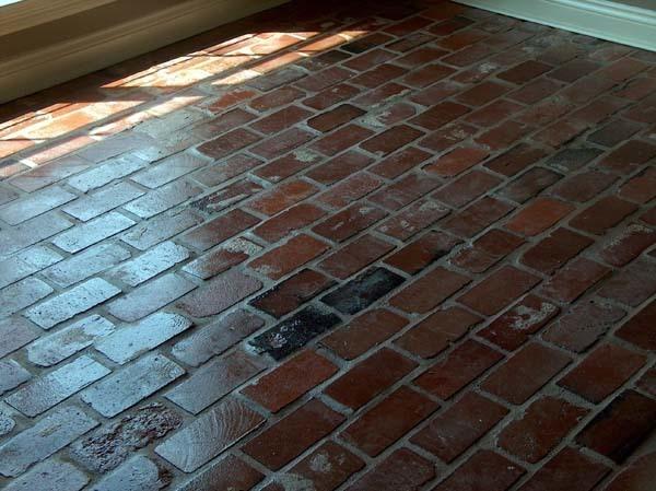 Red Brick Kitchen Flooring