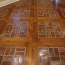 Old St. Louis Antique Brick Floor Tile Installation #14
