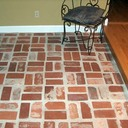 Old St Louis and Old South Carolina Mix Antique Brick Floor Tile