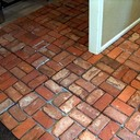 Old South Carolina Antique Brick Floor Tile Pre-Grout