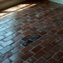 Old St Louis Antique Brick Floor Tile - Glossy Finish